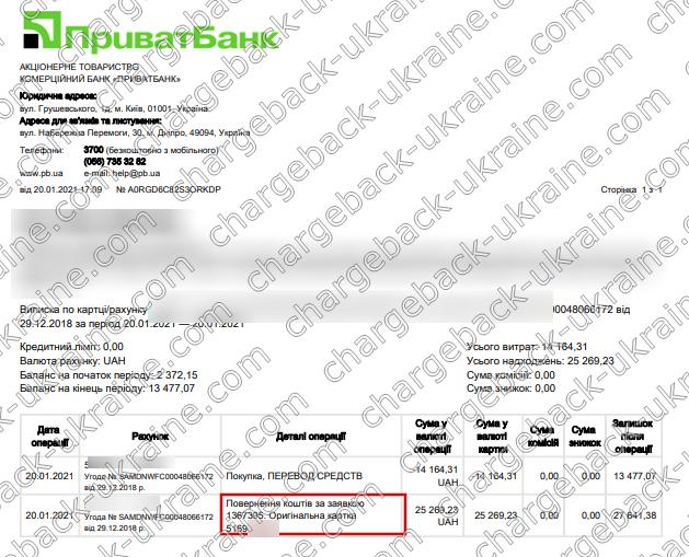 Поверенення 20 січня 2021 – 25 269,23 UAH з i-want.broker