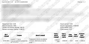 Поверенення 26 лютого 2021 – 4820 доларів з LBLV