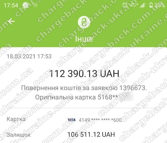 Поверенення 18 березня 2021 – 112 390 гривень з Tradershome