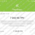 Поверенення 11 березня 2021 – 7043 гривень з Amerom