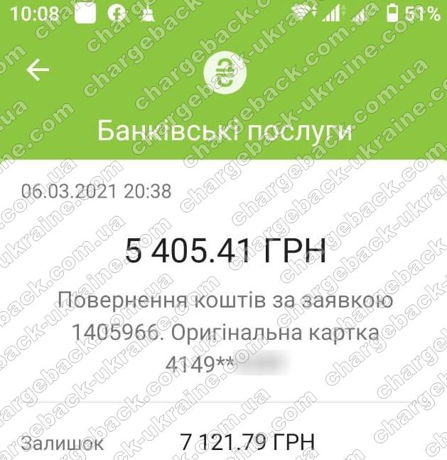Поверенення 07 березня 2021 – 5405 гривень з i-want.broker