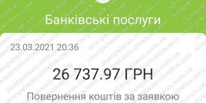 Поверенення 24 березня 2021 – 26737 гривень з i-want.broker