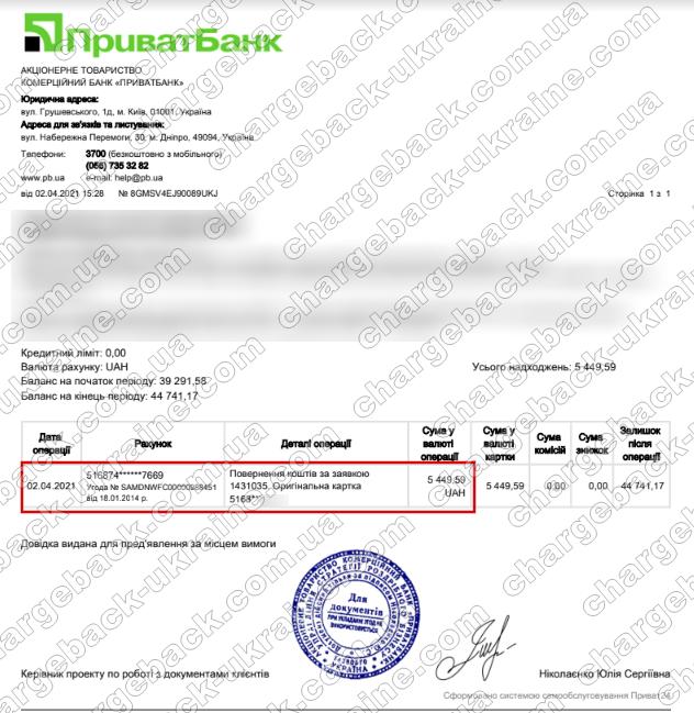 Поверенення 2 квітня 2021 – 5 449 гривень з TRADERSHOME