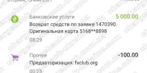 Поверенення 18 травня 2021 – 5000 USD з LBLV