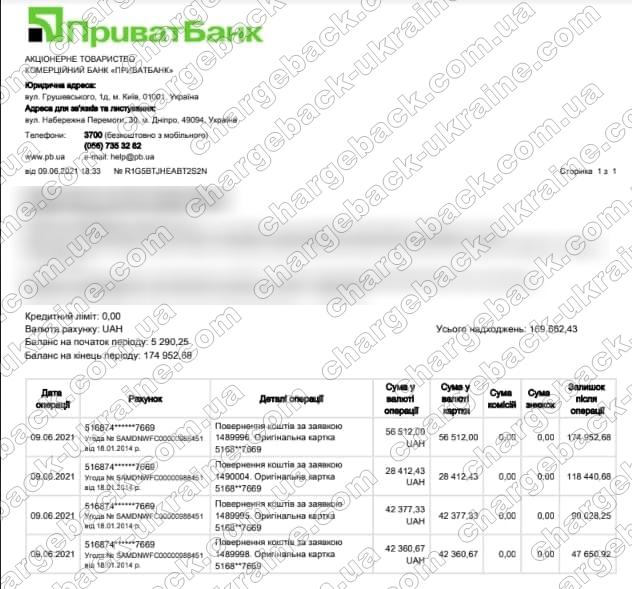 Поверенення 9 червня 2021 – 169 662 UAH з TRADERSHOME