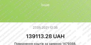 Поверенення 27 травня 2021 – 139 113 грн з Tradershome