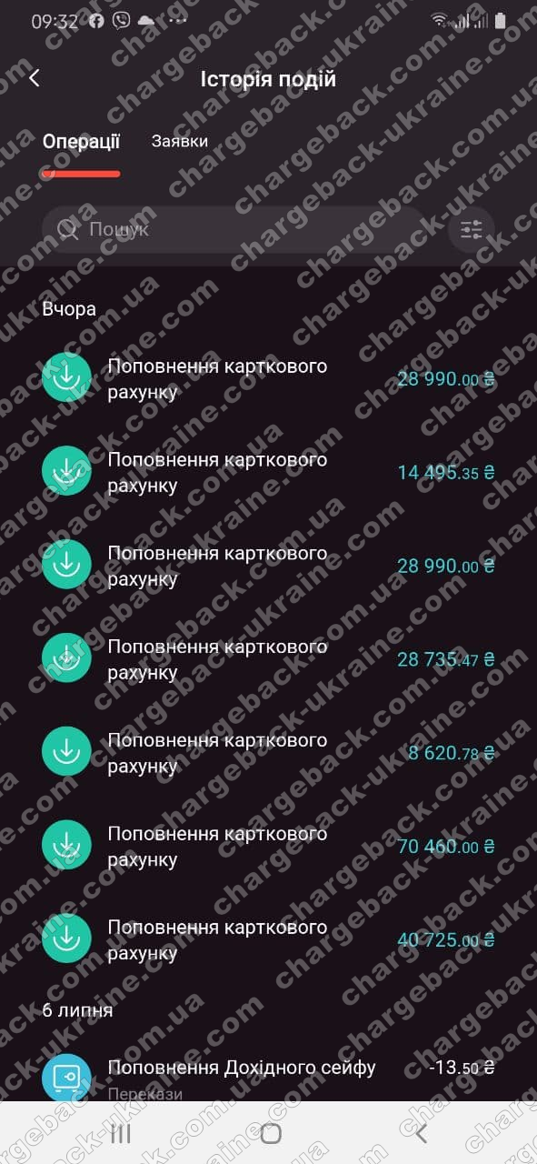 Поверенення 9 липня 2021 – 221016 грн з Tradershome