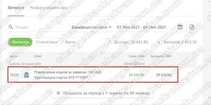 Поверенення 4 липня 2021 – 28442 грн з LBLV