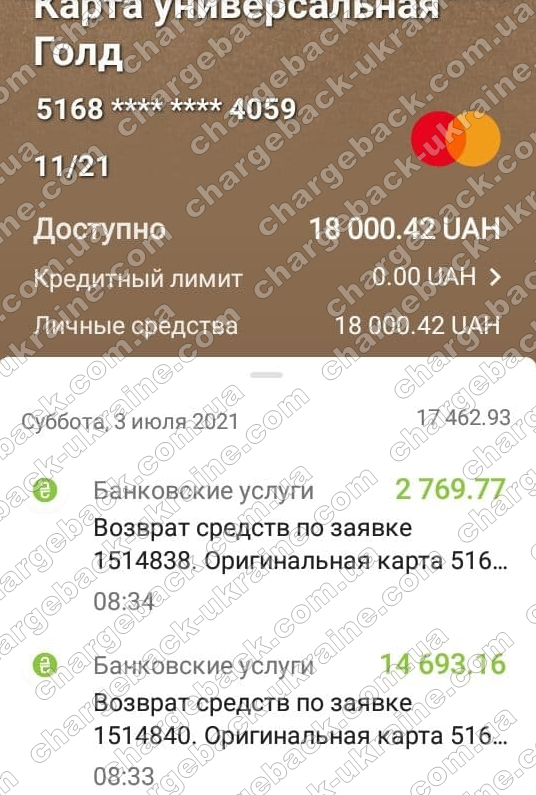 Поверенення 3 липня 2021 – 17462 грн з limefx
