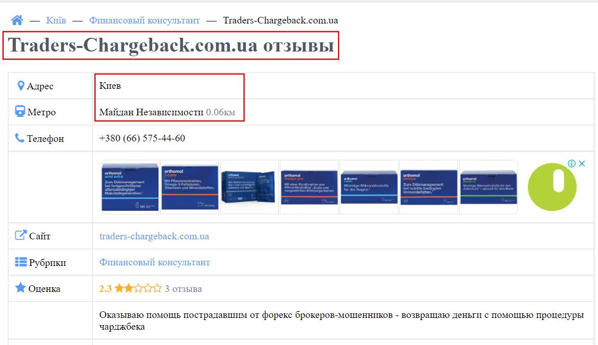 traders-chargeback.com.ua аферист