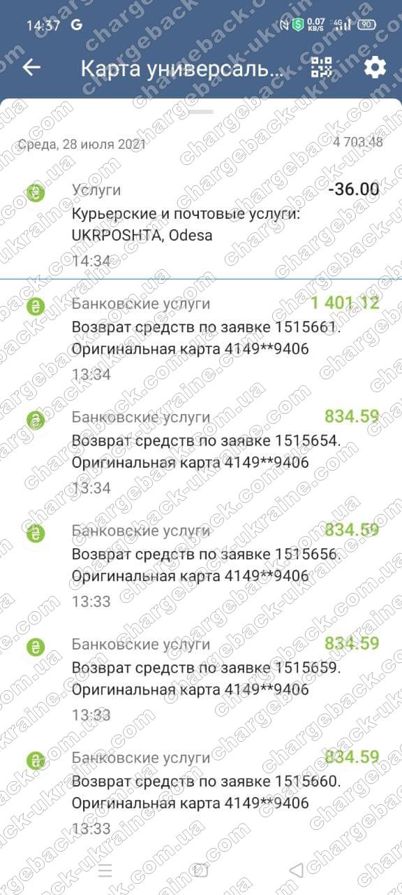 Поверенення 28 липня 2021 – 4 739 грн з Олимп Трейд-OLYMPTRADE.COM